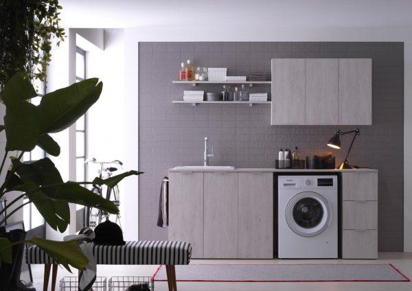 Lavanderia soluzioni per bagni piccoli e mobili bagno