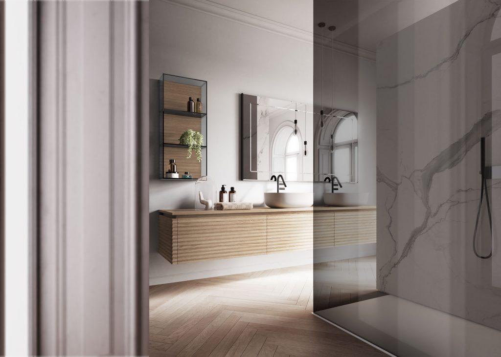 Dolcevita mobili bagno per un bagno moderno e sofisticato