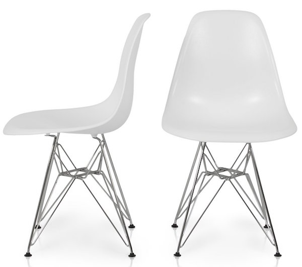 eames style plastic chair beach umbrella target top 10 best chairs reviewed in 2018 bellezza c molded eiffel side