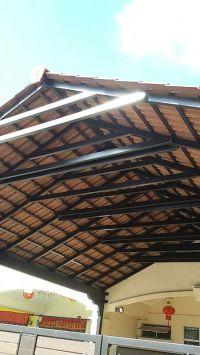 Design Tile Car Porch