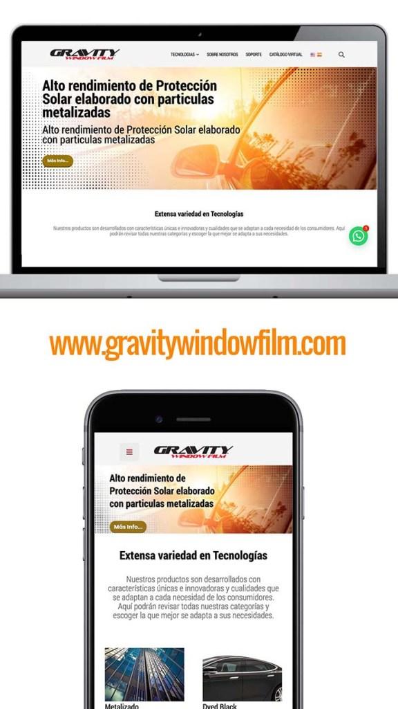 Gravity Window Film
