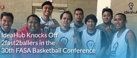 IdeaHub Knocks Off 2fast2ballers in the 30th FASA Basketball Conference