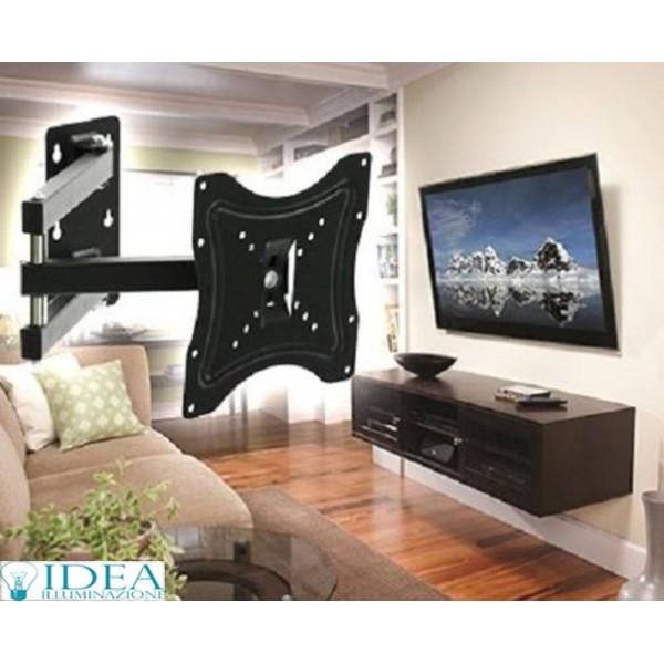 Supporto staffa TV televisore LCD Plasma LED da 14 a 46 pollici