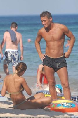 I Think Francesco Totti Has A Great Body