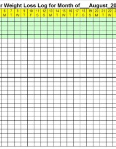 also august weight loss calendar rh ideal charts