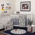 Nojo Disney Mickey Mouse Bedding Crib Set 6 Pieces Cro46916