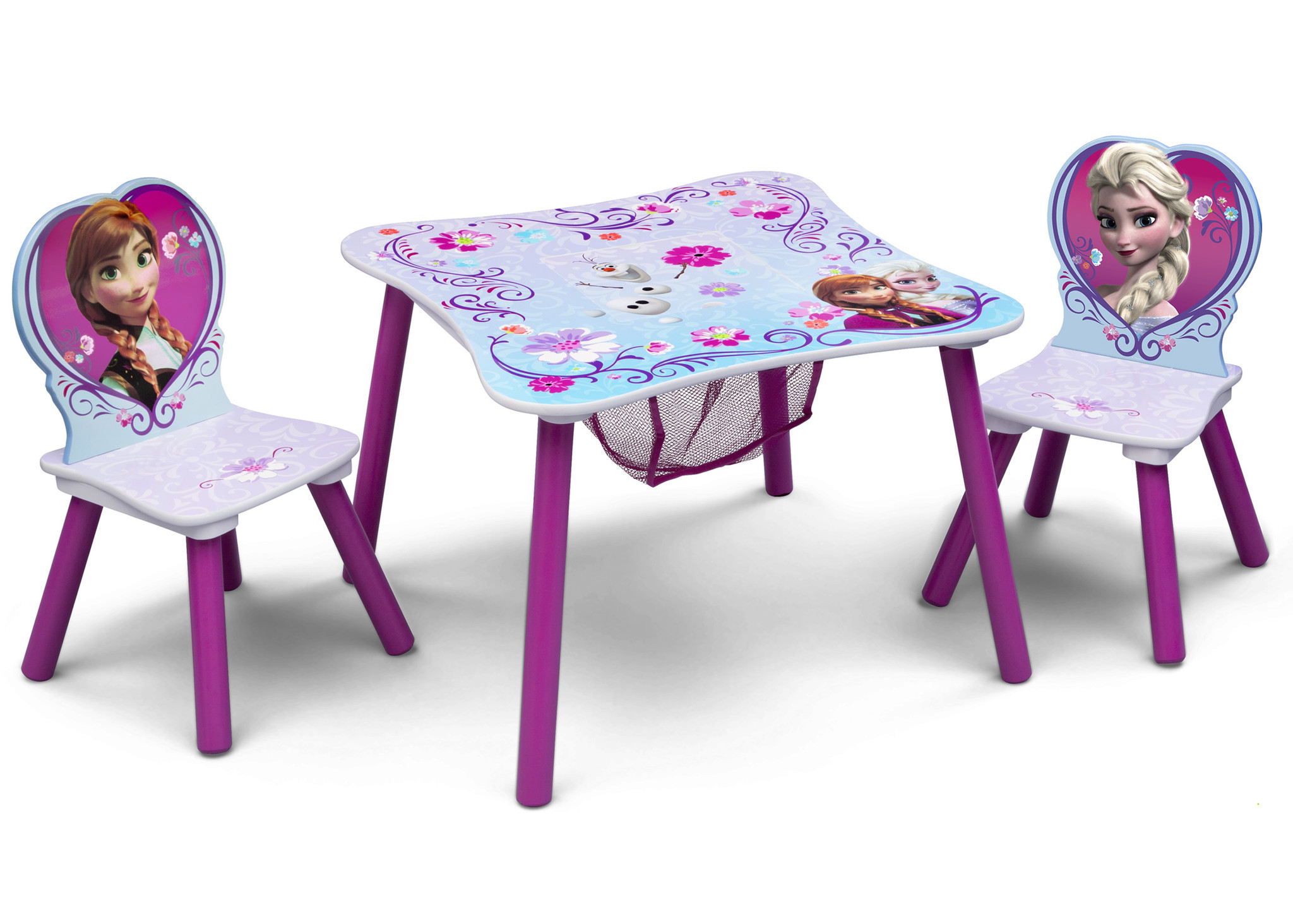 Disney Frozen Table & Chair Set with Storage