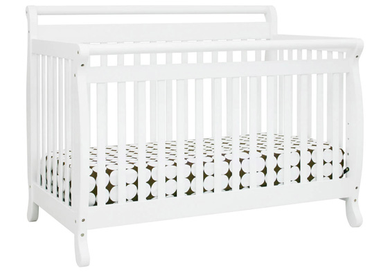 Davinci Emily 4 in 1 Convertible Crib with Toddler Rail