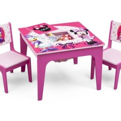 Minnie Table And Chairs Most Comfortable Swivel Chair Delta Disney Set Ideal Baby Quick View