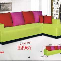 Sofa Sets Cheap Malaysia Best Way To Clean A White Fabric Sofas L Shaped And 321 Ideal