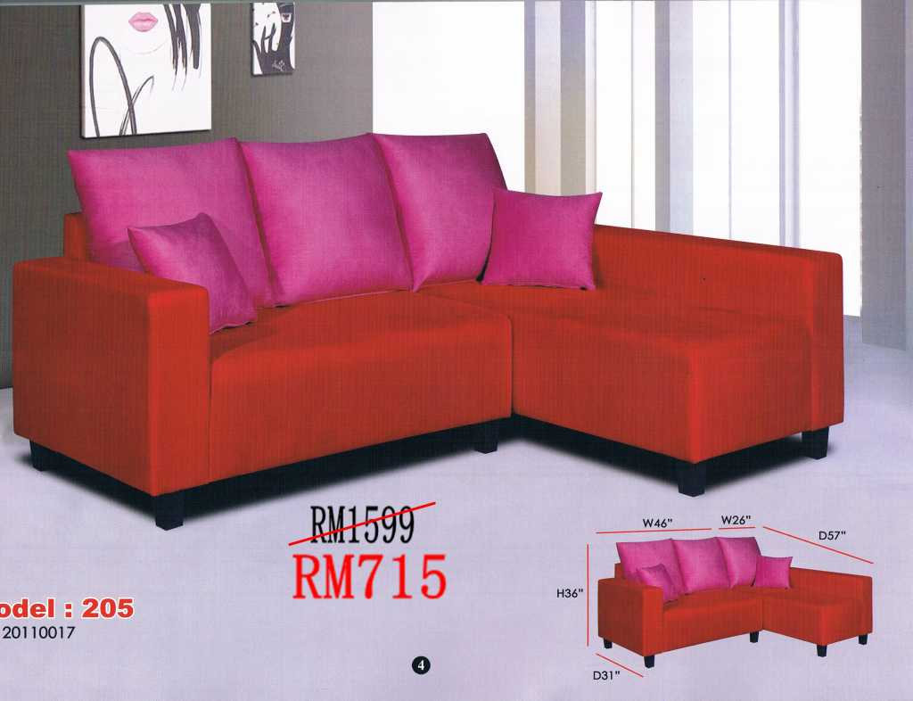 sofa bed malaysia murah cat scratched leather quick easy repair sofas l shaped and 321 sets ideal