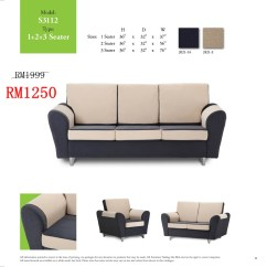 Sofa Bed Malaysia Murah White Throw Blanket Sofas Lshape And 321 Sets Ideal Home Furniture