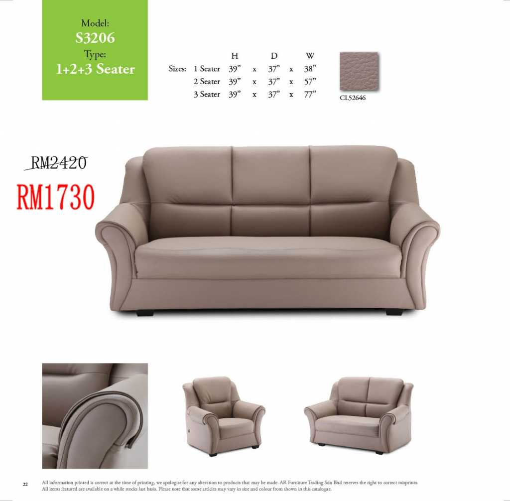 sofa bed malaysia murah sherrill sectional sofas lshape and 321 sets ideal home furniture