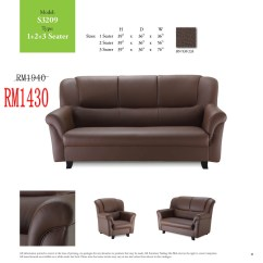 Sofa Leather Sale Malaysia Western Style Covers Sofas Lshape And 321 Sets Ideal Home Furniture