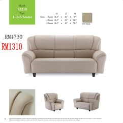 Recliner Sofa In Malaysia Coffee Table For Side Of Sofas Lshape And 321 Sets Ideal Home Furniture