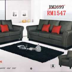Sofa Bed Malaysia Murah Sleeping Couch And Sofas - L Shaped 321 Sets | Ideal ...
