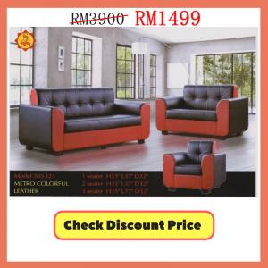 perabot sofa murah, leather sofa sale, sale sofa, chairs, sofa klang,