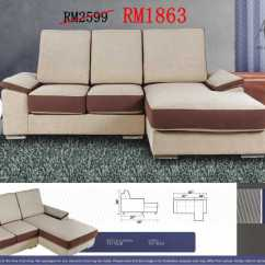 Sofa Bed Murah Malaysia 2018 Flip Target Sofas - L Shaped And 321 Sets | Ideal ...