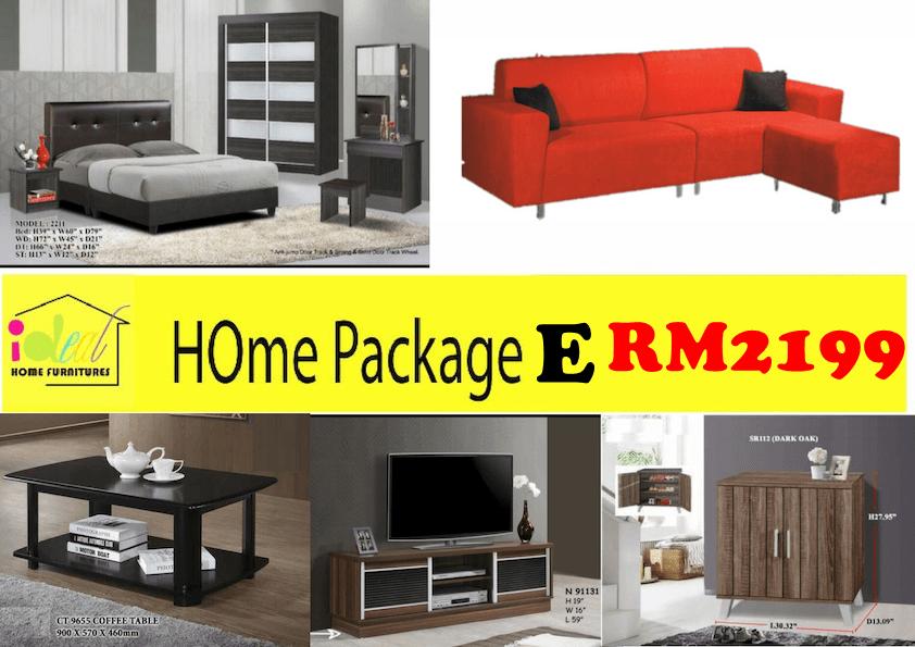 perabot rumah tanggal, harga perabot terbaru, perabot rumah murah, set perabot rumah, house furniture package,