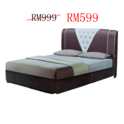 Sofa Bed Malaysia Murah Lane Bamboo Table Frame 2019 Ideal Home Furniture Divan And Mattress Platform Katil Queen