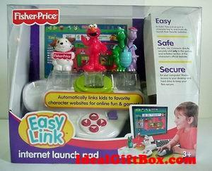 FisherPrice EASY LINK internet launch pad