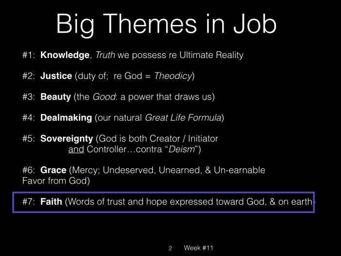 Book of Job, Raz, Week #11.002