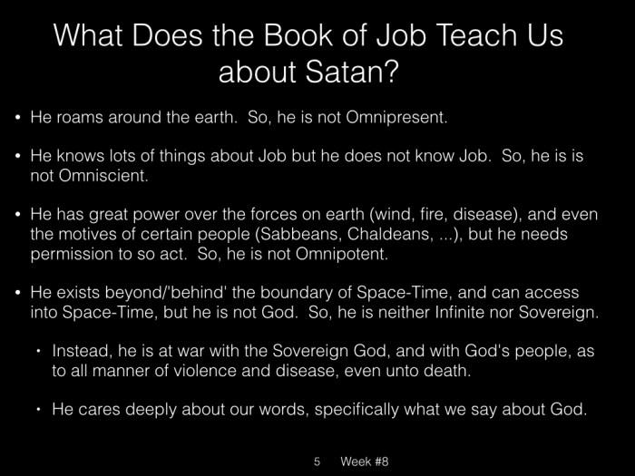 Book of Job, Raz, Week #8.005