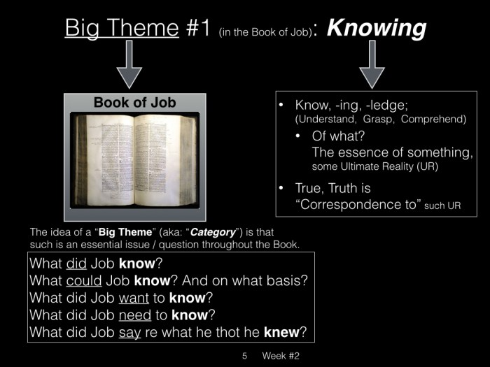 Book of Job, Week #2 LB.005