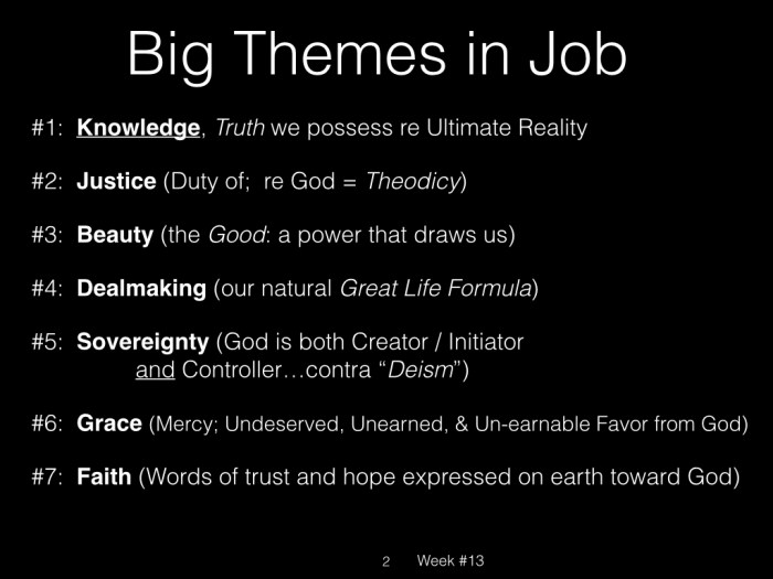 Book of Job, Raz, Week #13.002