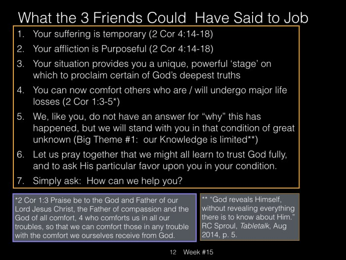 Book of Job, Raz, Week #15.012