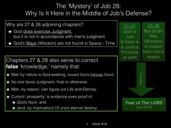 Book of Job, Raz, Week #18.004