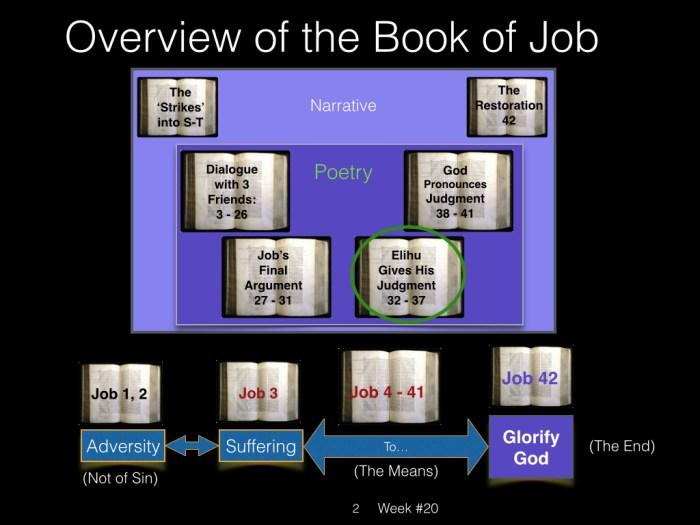 Book of Job, Raz, Week #20.002