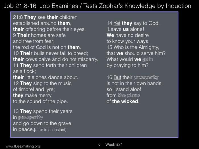 Book of Job, Week #21 LB.006