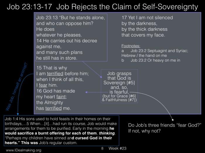 Book of Job, Week #23 LB.008