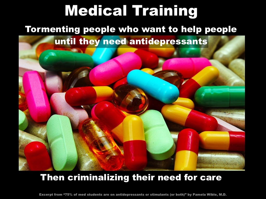 Medical Training - Tormenting People Who Want To Help People. ""