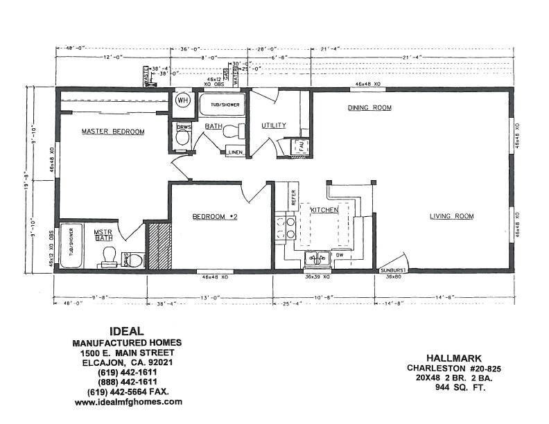 2004 Skyline Mobile Home Floor Plans