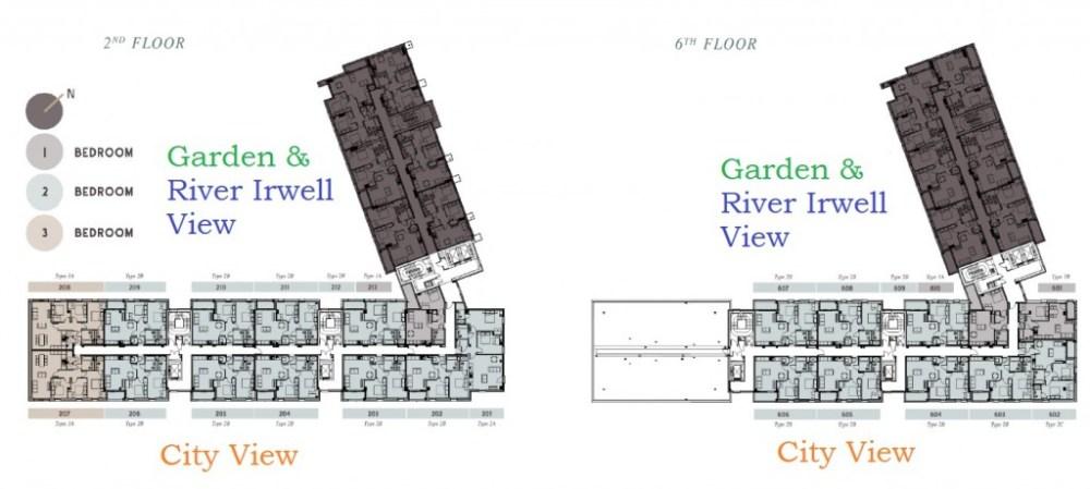One Regent Manchester Floor Plan