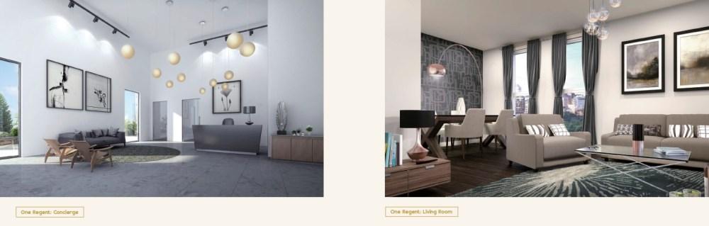 One Regent Manchester_Concierge & Living Room