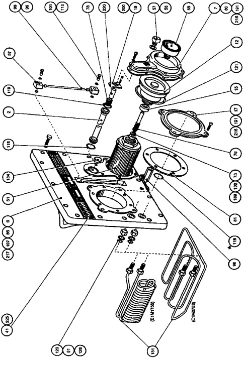 Edwards 175 and 275 Rotary Vane Mechanical Vacuum Pump