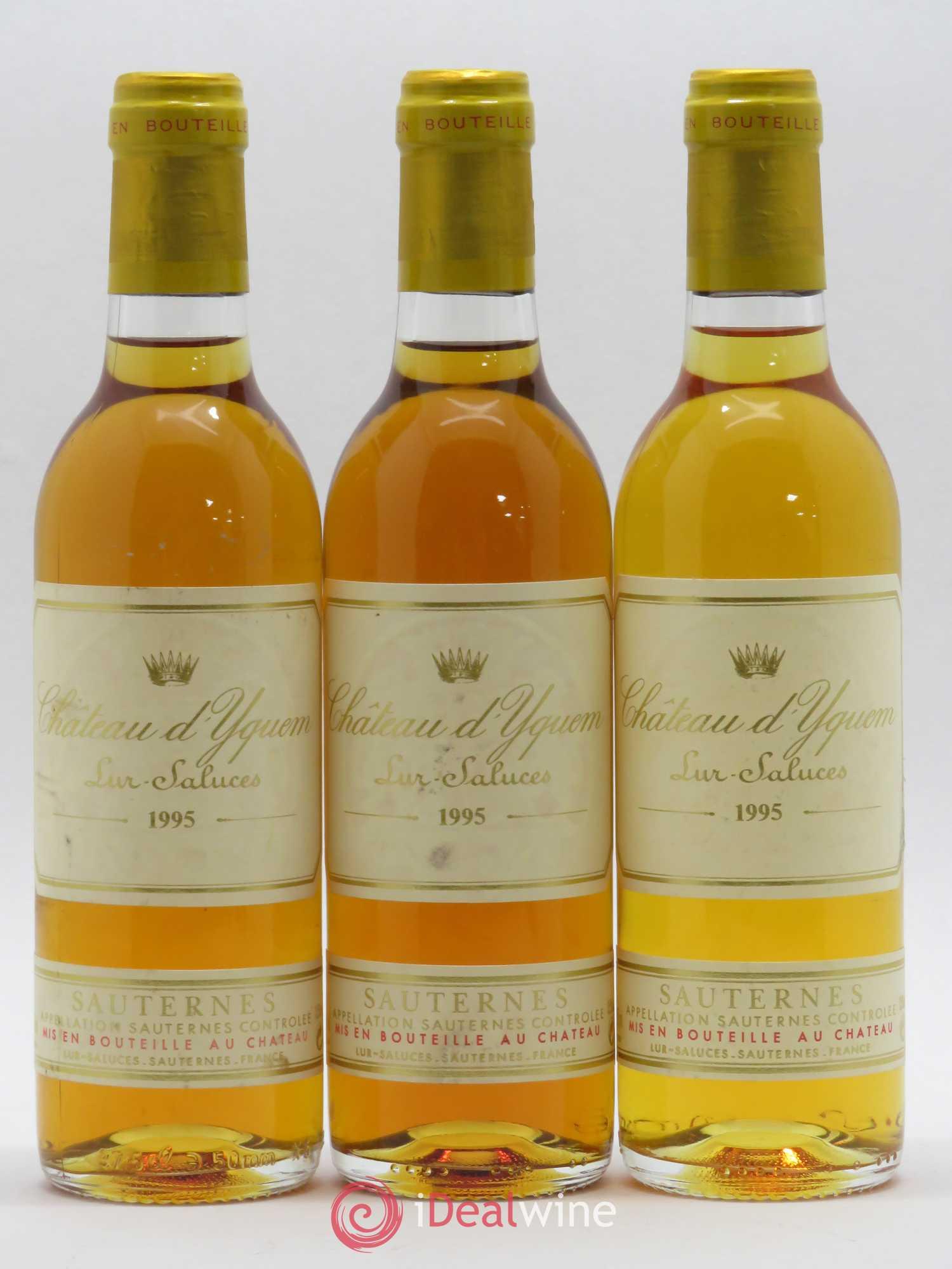 Acheter Château d'Yquem 1er Cru Classé Supérieur 1995 (lot: 5145)