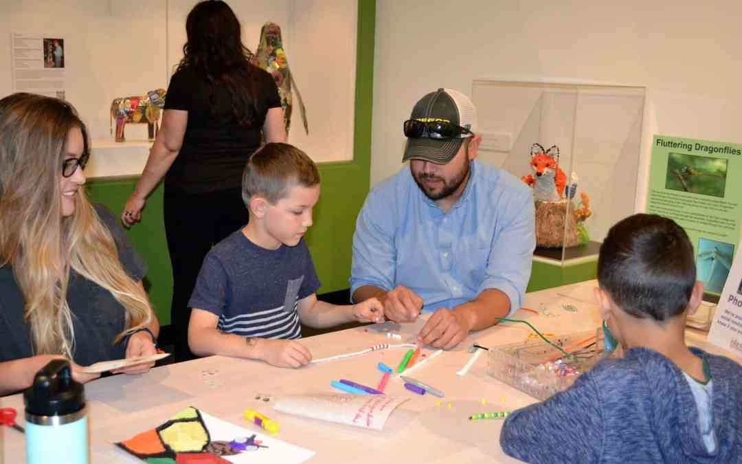 Spend quality family time creating at the i.d.e.a. Museum this Easter weekend