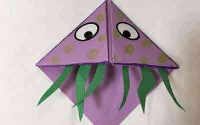 Booky Monster Bookmark activity