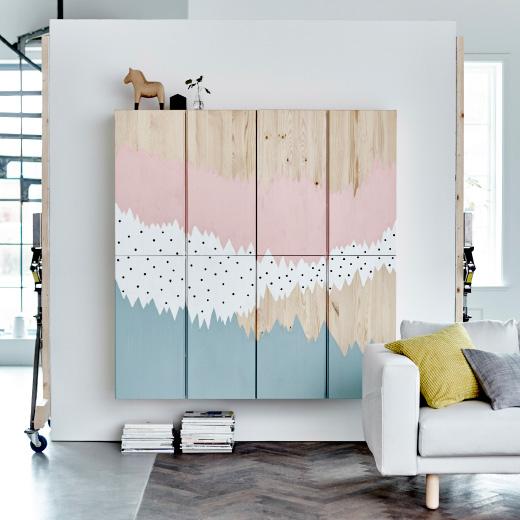 Muebles con arte