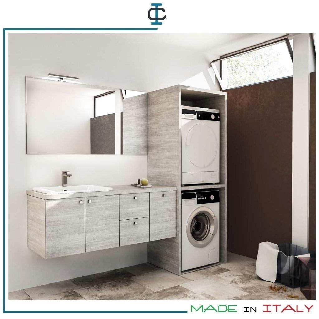 Colonna Lavatrice ed Asciugatrice art MOBA578