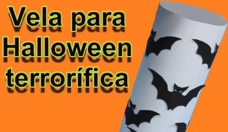 Vela para Halloween
