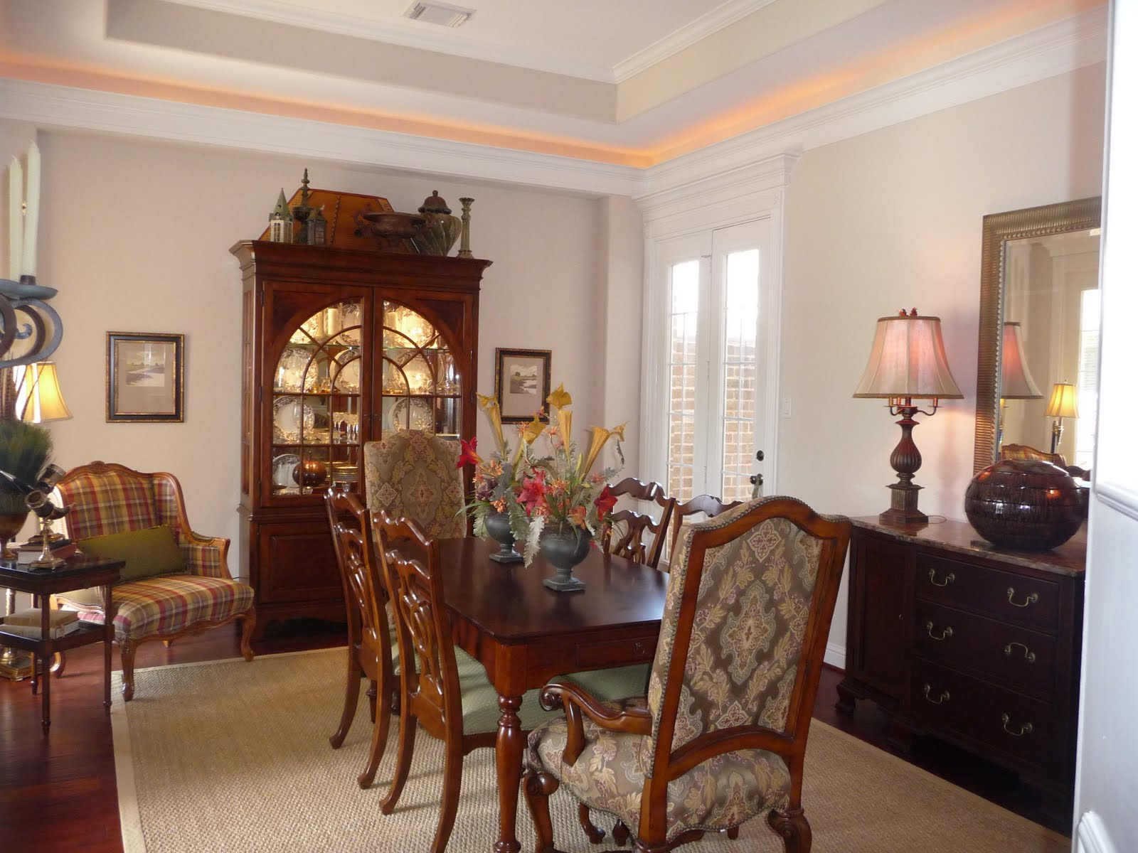 Dining Room Design Ideas with Brave Tone Decoration  Ideas 4 Homes