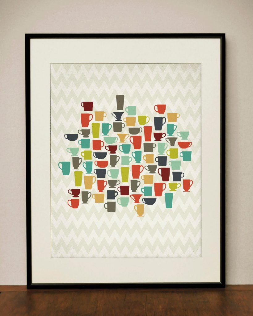modern kitchen art cabinets albany ny vintage for your ideas 4 homes coffee cup framed print