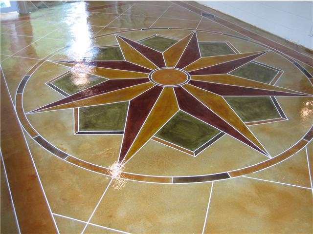 Why you should consider concrete staining for your home  Ideas 4 Homes