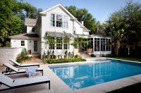 House Plans with Pools, Outdoor Sitting and Beautiful ...