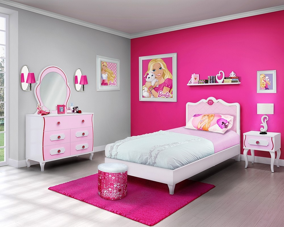 Great bedroom dcor ideas for girls rooms  Ideas 4 Homes